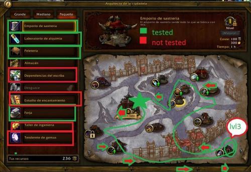 Screenshot for Garrison base LVL3 HORDE, village Farm