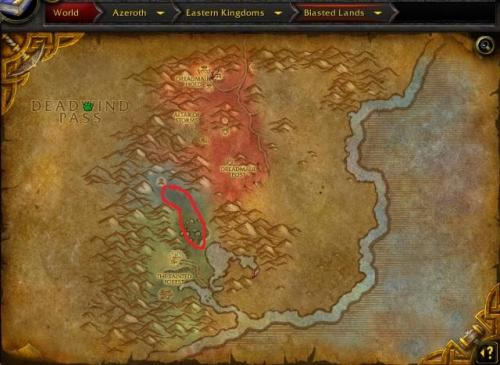Screenshot for 57-59 Blasted Lands Tainted Forest