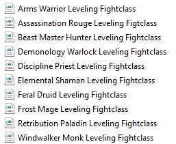 Screenshot for [Paid] Leveling fightclass pack - by Arcangelo+Eeny