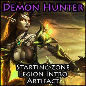 Screenshot for [PAID] Demon Hunter: Starting zones + Legion intro + 1st Artifact