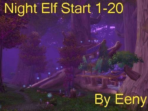 Screenshot for [A] [Quester] Night Elf start  1-20