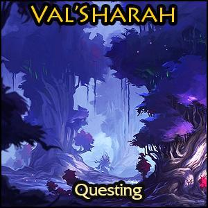 Screenshot for [PAID] Val'sharah - all quests