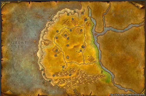 Screenshot for [FREE] 1-18 Alliance Quest Profile: Elwynn & Westfall