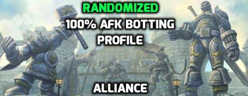[PAID] [Alliance] 1-60 AFK Quester / Grinder with Randomized Grinding + All Starting Zones + Automatic Updates